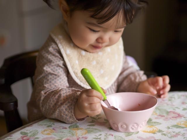 偏食対策3:食べ物は食べやすく