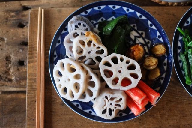 海藻類や根菜類などを上手に使っ