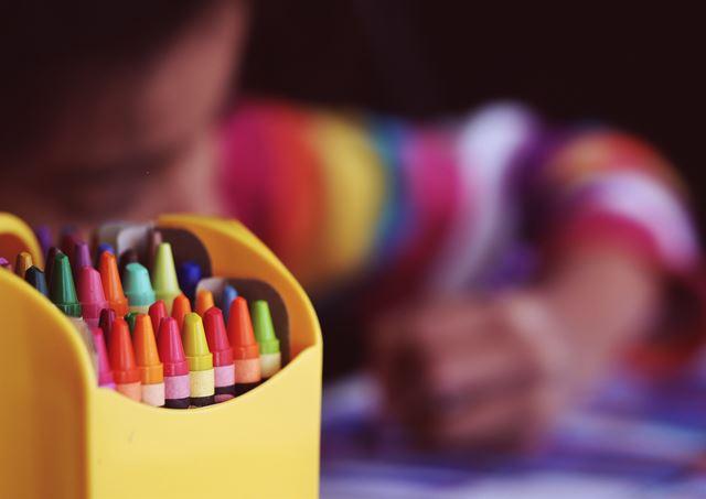 男の子女の子違い絵の描き方