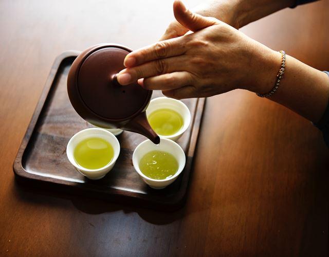 冷え対策緑茶