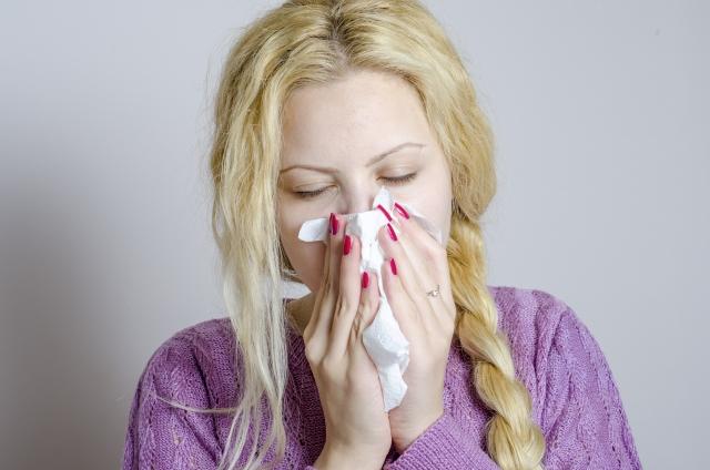 風邪かぜ鼻はなからくる人