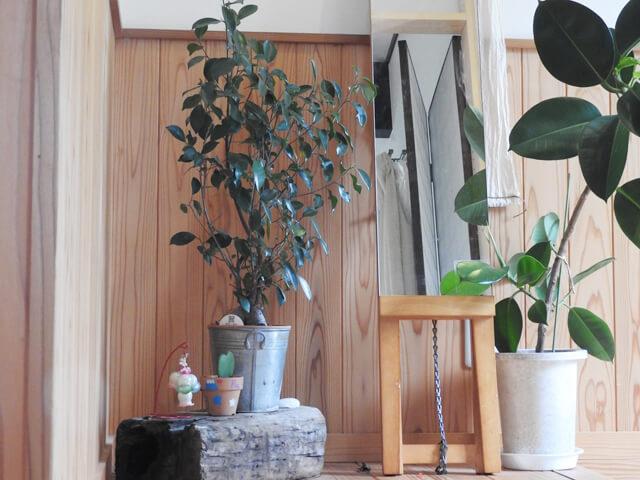 玄関風水鏡の位置
