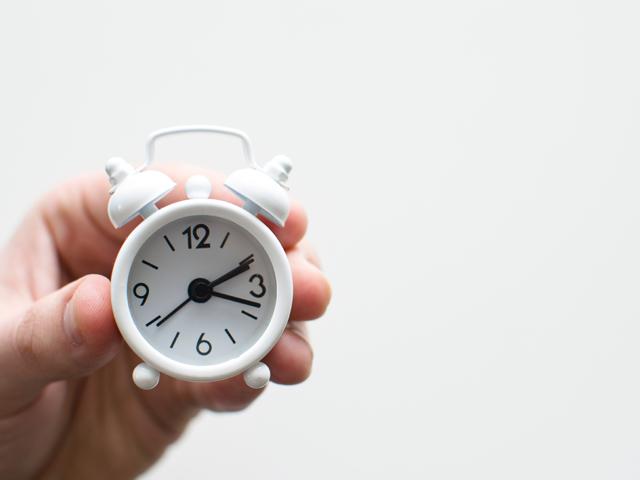 ヤイヤ期の子供対策1:時間に余裕をもって行動する