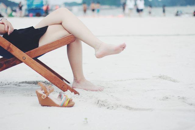 脚が太くなる習慣脚を組む