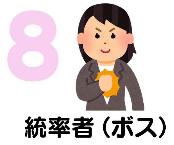 タイプ8 統率者(ボス)