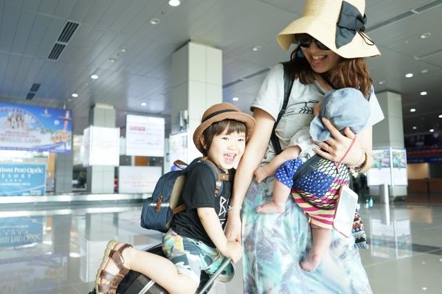 【子連れ旅行で大変だったこと:その2】荷物がかさばる!多い!