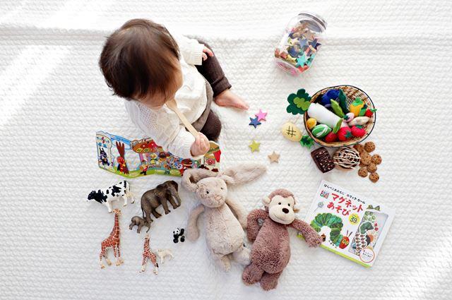 男の子と女の子の違いおもちゃ