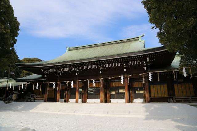 明治神宮東京都パワースポット