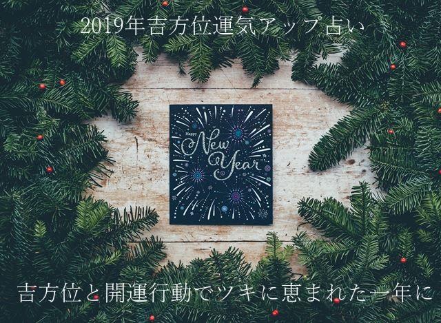 2019年運勢無料占い吉方位九星