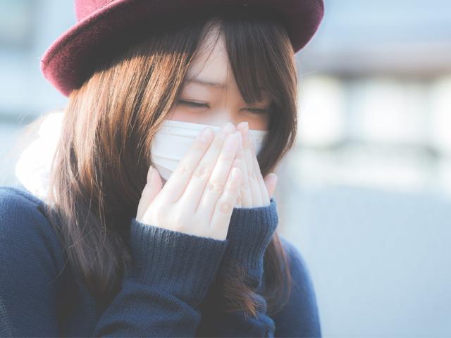 花粉症今日ひどい