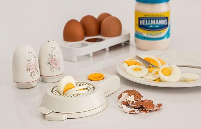 ゆで卵ダイエットメニュー