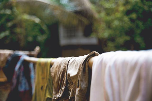 梅雨失敗しない金運アップ術対策洗濯物の部屋干し
