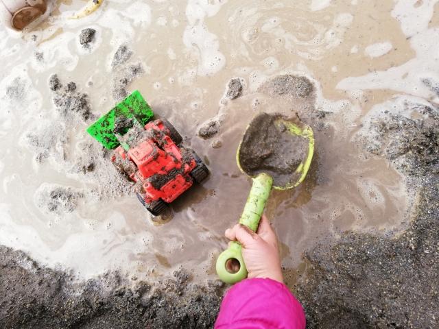 子ども洗濯泥汚れ落とし方