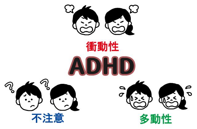 ADHD特徴発達障害図解サンゴスタイル35style