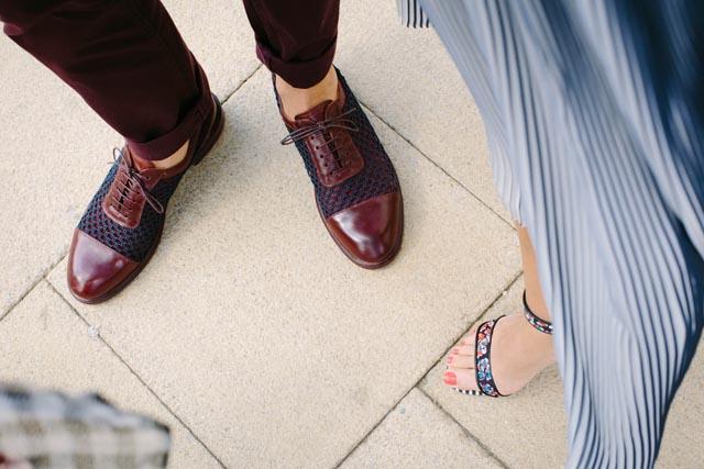 風水ハッピー幸運運気アップ靴と足の関係