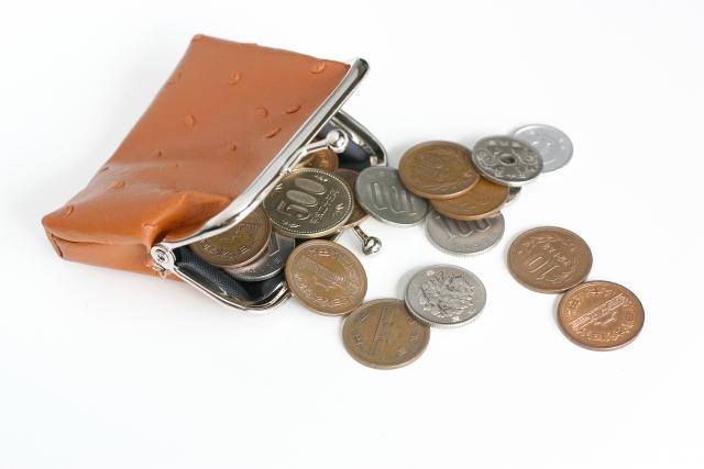 災害時緊急時に必要な現金小銭