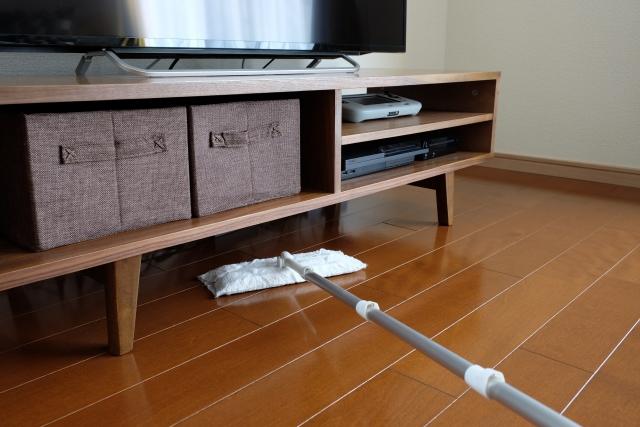 掃除テレビ周り