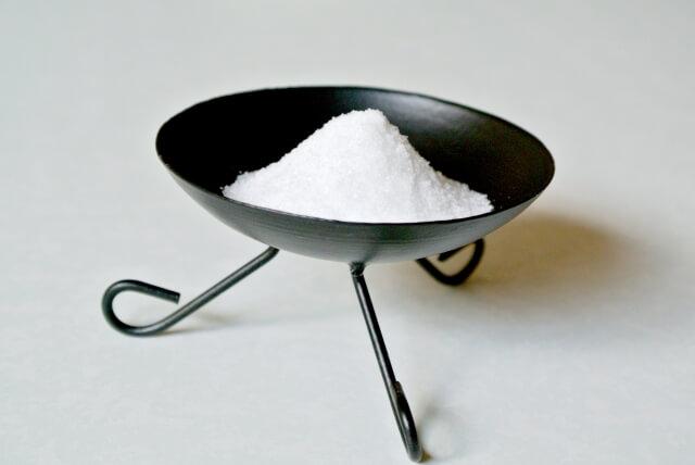 盛り塩の処分方法
