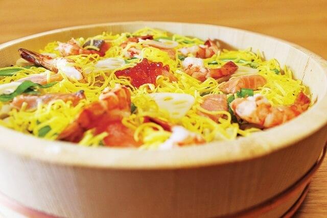 簡単風水3/3開運デーひな祭り大人ご利益ちらし寿司ハマグリ