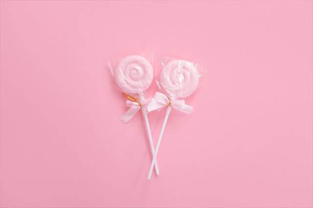 開運ネイルカラー桃色ピンク