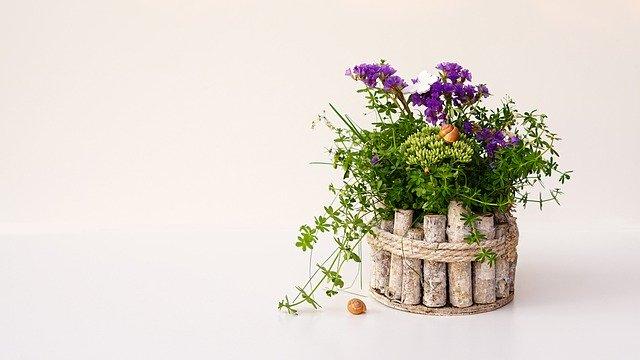 風水花鉢植え花瓶