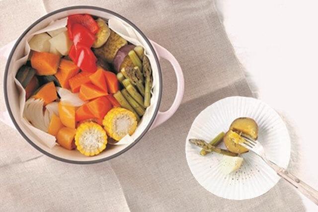 温野菜バーミキュラ無水調理鍋