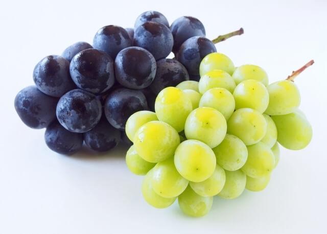 食べ物風水8月に食べたい開運フードブドウ