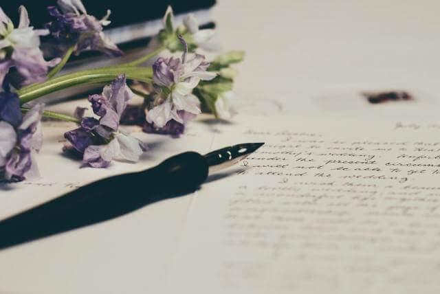 夏不調風水で解決オススメ開運方法手紙を書く