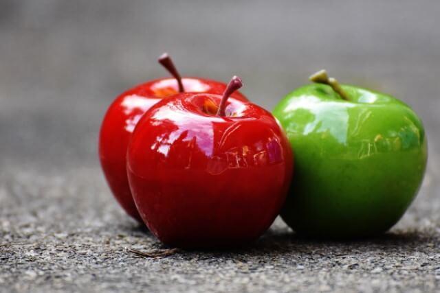 平和を望むならリンゴのモチーフがオススメ
